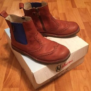 Naturino Brown Leather Shoes Size 32 / Size 1